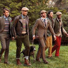 Chic im Jagdlook - Herrenkleider mit Country Style