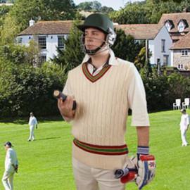 Cricket Jumper für den perfekten Vintage Sport Style