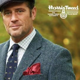 Harris Tweed kleidet jeden Mann perfekt