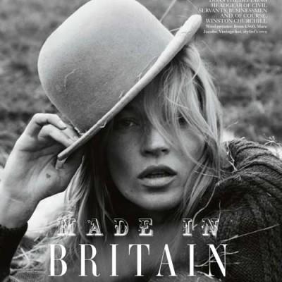 Made in Britain Style mit Melone und Kate Moss